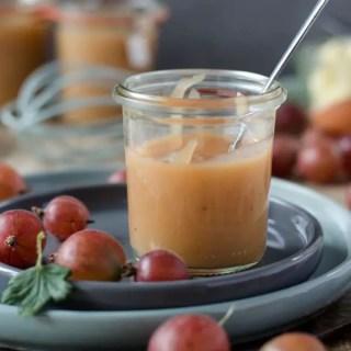 cremiges und fruchtiges Stachelbeer Curd