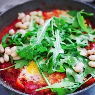 Mein liebstes vegetarisches Fitness-Rezept – Shakshuka (Gastbeitrag)