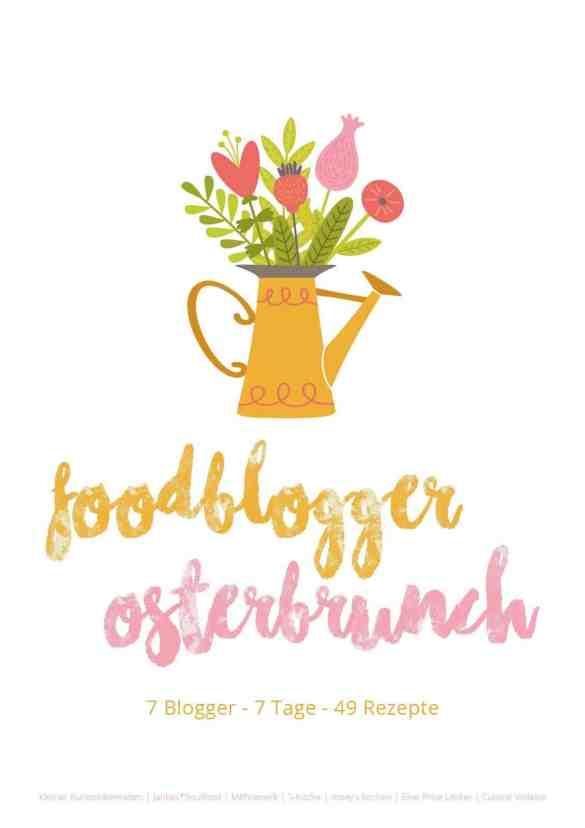 Der Foodblogger-Osterbrunch mit 40 tollen Rezepten von 7 Bloggern.