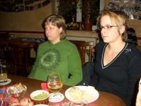 2007. Sabine und Kathi