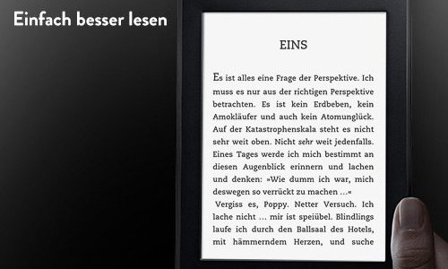 Kindle – das ultimative Geschenk Touch / Voyage / Paperwhite …