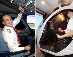 Hubschrauber- & Airbus A320 Flugsimulator in Hamburg