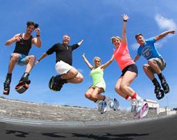 Kangoo Jumps Fitness Programm fuer 2