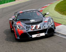 Lotus Exige V6 Cup Rennstrecken-Training am Hockenheimring