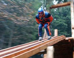 Skisprung Simulator bei Saalfeld