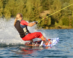 Wasserski- und Wakeboard-Kurs