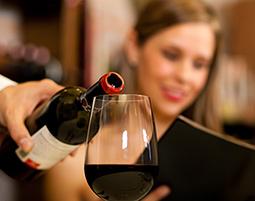 Weinverkostung mit Dinner