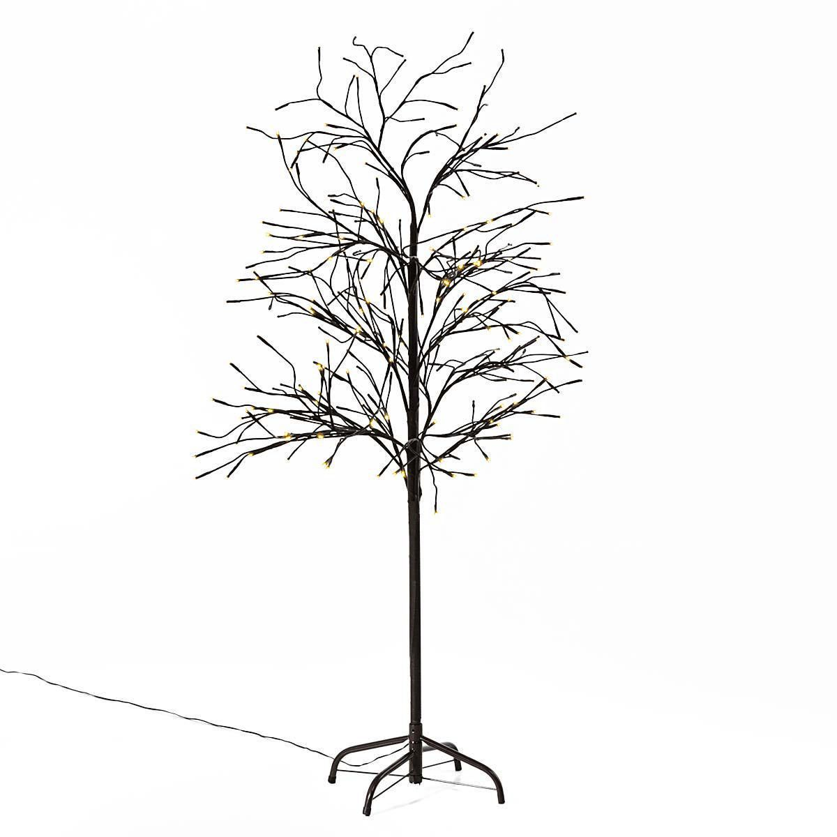 Weihnachtsbeleuchtung Led Baum.Led Baum Trauerweide Warmweiß Outdoorgeeignet Ca H150 Cm