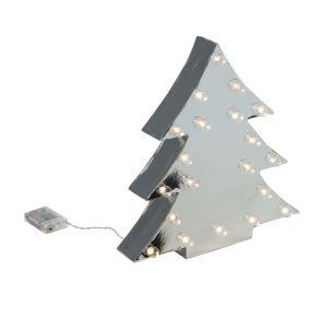 Die Tannenbäume bestehen aus Pappe, in die jeweils 20 kleine LEDs integriert wurden, die warmweiß leuchten. Nur für den Innenbereich geeignet, nur für Indoor-Einsatz geeignet, Leuchtmittel: 20 x kleine LEDs, Farbtemperatur: Warmweiß, Batterien: 3 x 1,5 V Mignonbatterien AA (nicht inklusive), Kabellänge ca. 50 cm, Maße: ca. Breite 36 x Tiefe 8 x Höhe 39 cm, Gewicht: ca. 0,43 kg, Material: Pappe.<br>