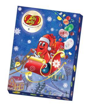 Jelly-Belly-Adventskalender gefüllt mit Jelly-Belly Beans in verschiedensten Geschmacksrichtungen.<br>