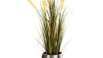 Kunstpflanze Raumtrenner Bambus Kunststoff Ca H140 Cm Einfach