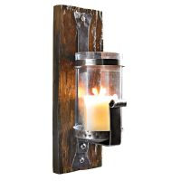 Wand-Kerzenhalter Wood