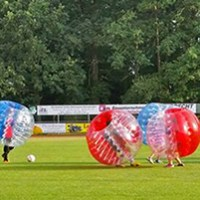 Bubble-Fussball fuer Kinder