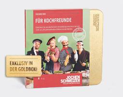 Fuer Geschmacks-Pioniere und Genuss-Kuenstler!