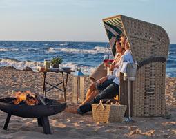 Wellness-Wellen an der Ostsee...