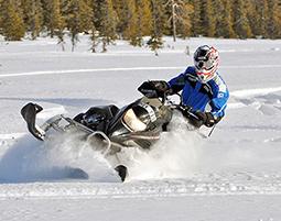 Ein Schneemobil und Wildnis pur – Entdecken Sie die arktische Gluecksformel!