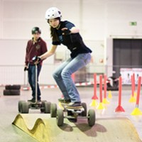Elektro-Funsport-Parcours bei Hannover