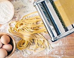 Machen Sie Ihr grosses Pasta-Latinum!