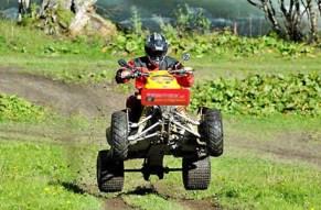 Wenn die Wildnis ruft, antworten Sie mit dem Roehren der Quad Motoren!