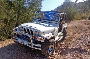 Ein Jeep auf mallorquinischen Umwegen!
