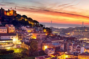 Auf der Woge der Begeisterung durch die portugiesische Hauptstadt!