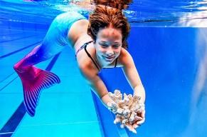Mach mit der Monoflosse den Pool unsicher