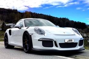 Drück die Sport-Taste – beim Porsche GT3 RS fahren in St. Gallen!