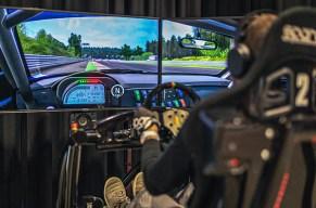 Geschwindigkeitsrausch im Simulator