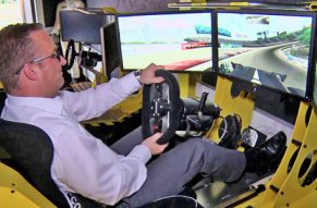 100 % Rennfahrer-Feeling, 0 % Risiko!