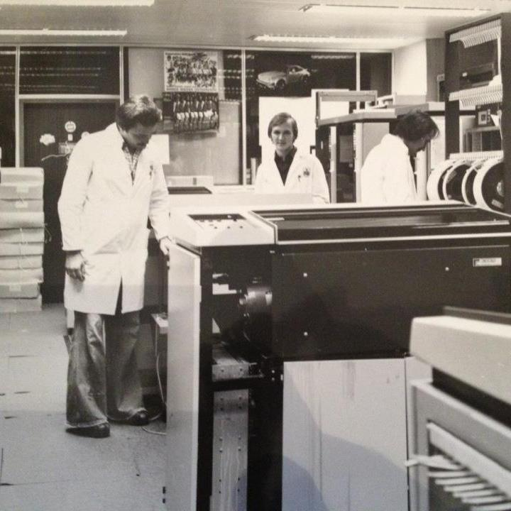 SPARDAT-Rechenzetnrum 1978
