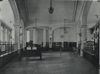 Kassensaal der Kommunalsparkasse Hernals - Mag. Palecny Hauptverband