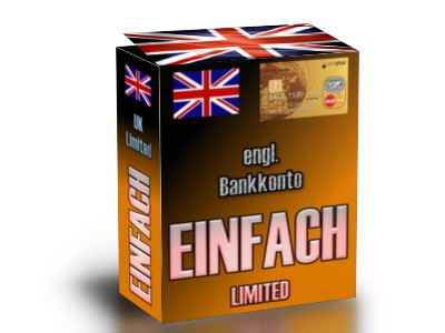 Bank Account with Online-Banking and Mastercard EUR 99