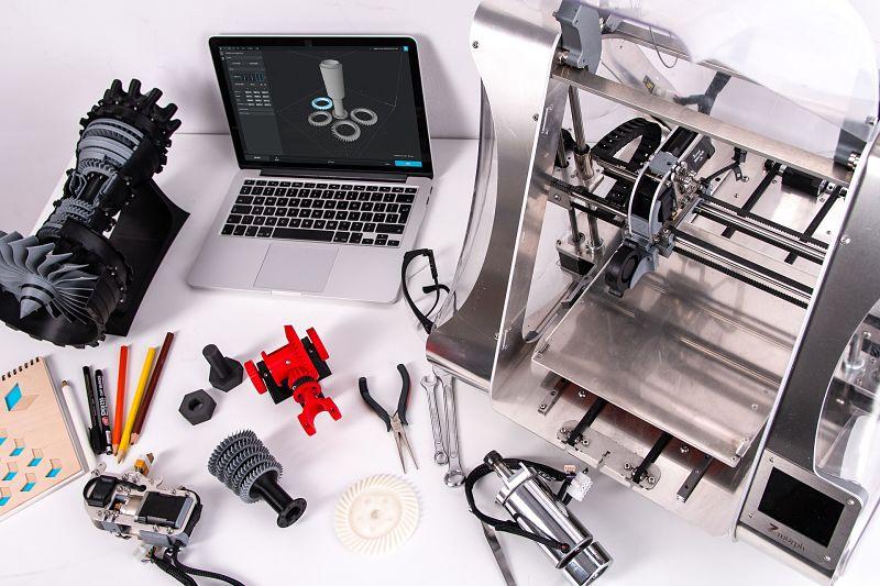 3D-Druck Zukunft, 3D-Druck Turbine