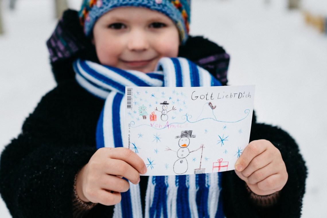 Weihnachten im Schuhkarton - Lasst Kinderaugen leuchten - Einfach ...