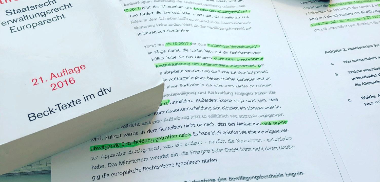 LAW // 10 Fragen zu meinem Jura-Studium an der Fernuniversität in ...