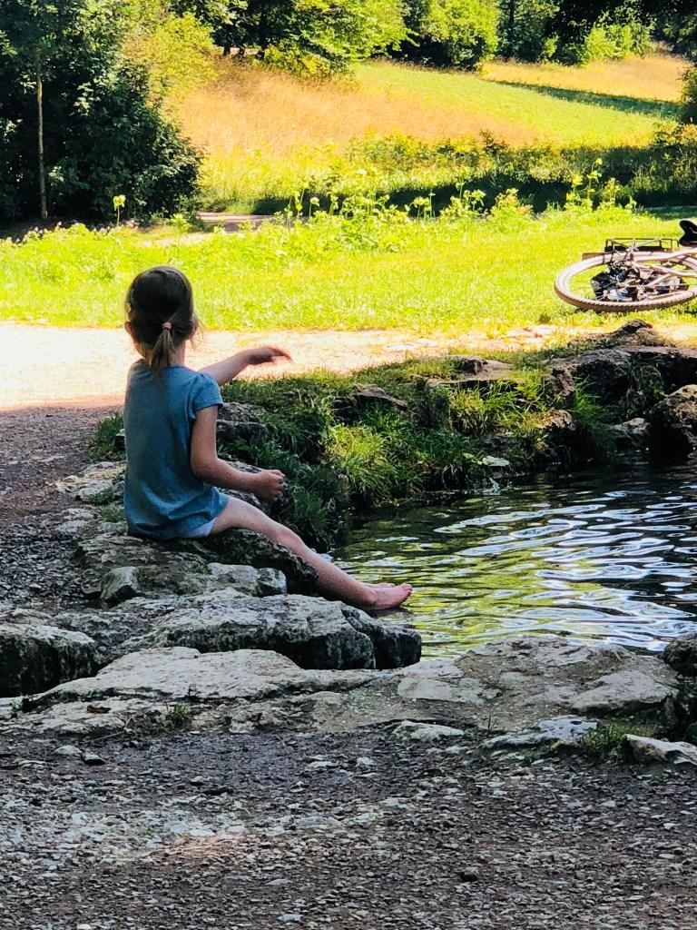 Weimar mit Kindern Ilm Park
