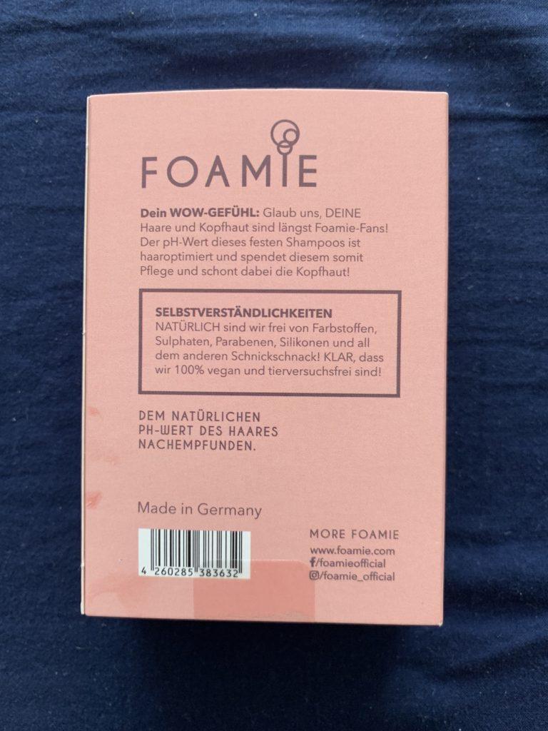 Foamie Shampoo