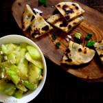 葱油饼-Pfannkuchen mit Frühlingszwiebeln