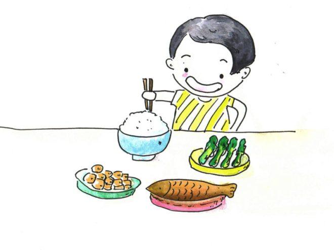 Essen für Kinder in China