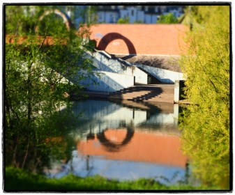 Neckarufer bei der Unterführung zur Plochinger Innenstadt
