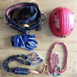 Klettersteig Ausrüstung, www.einfachmalraus.net