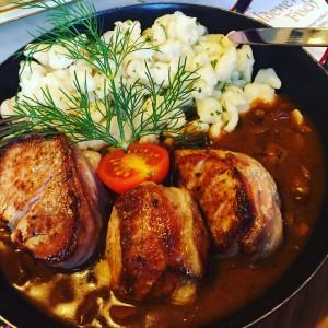 """Abendessen im """"Gasthof Goldener Fisch"""" Lienz, www.einfachmalraus.net"""