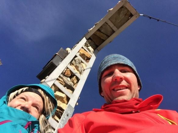 Gipfelfoto auf dem Larmkogel, www.einfachmalraus.net
