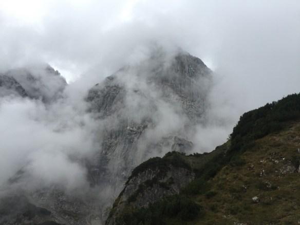 Wolken im Wilden Kaiser, www.einfachmalraus.net