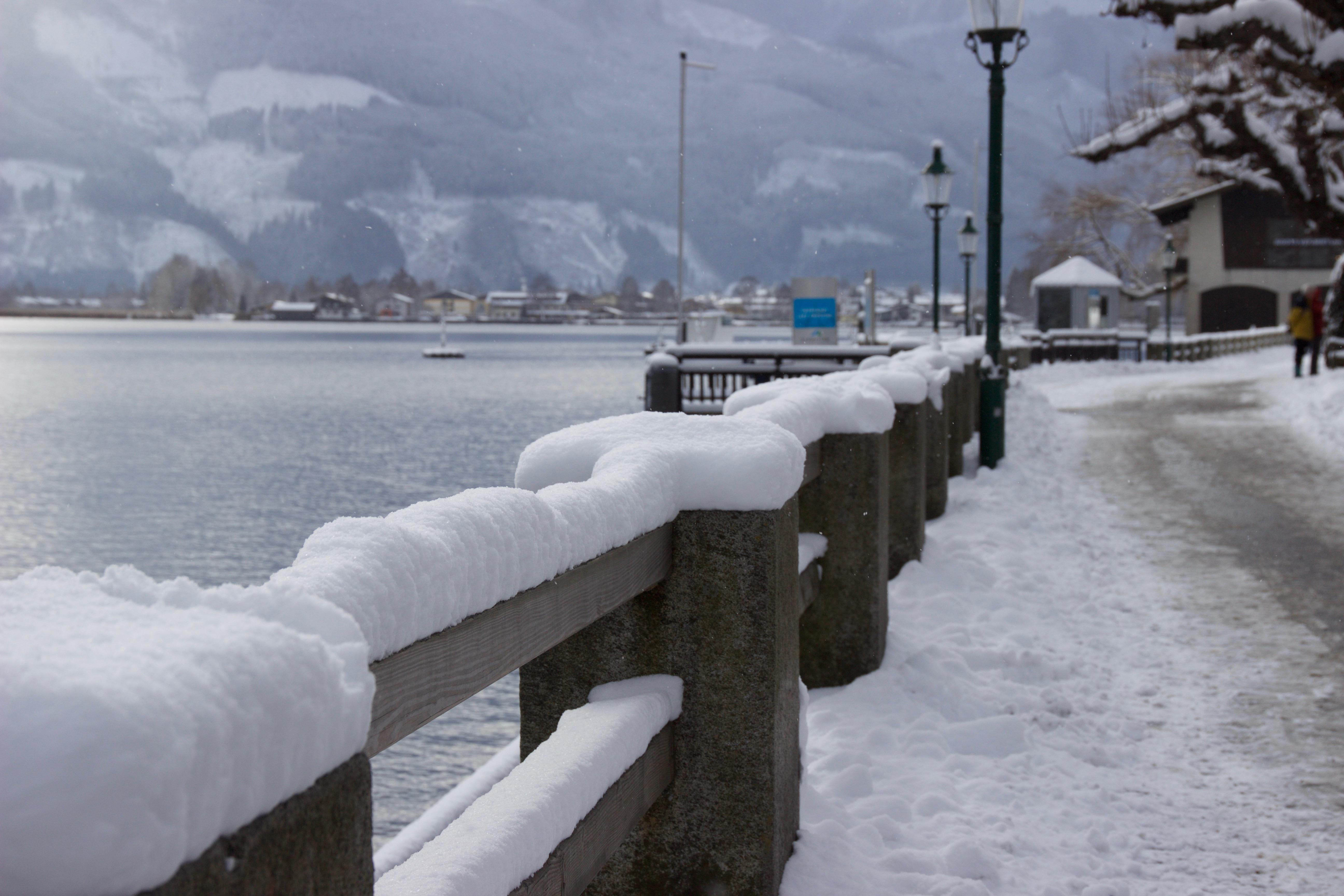 Verschneites Zell am See, www. einfachmalraus.net