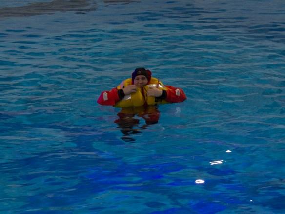 alleine im Wasser. www.einfachmalraus.net