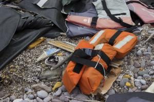 Spuren der Flucht auf Lesbos, www.einfachmalraus.net