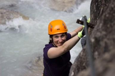Im Klettersteig durch die Galitzenklamm, einfachmalraus.net