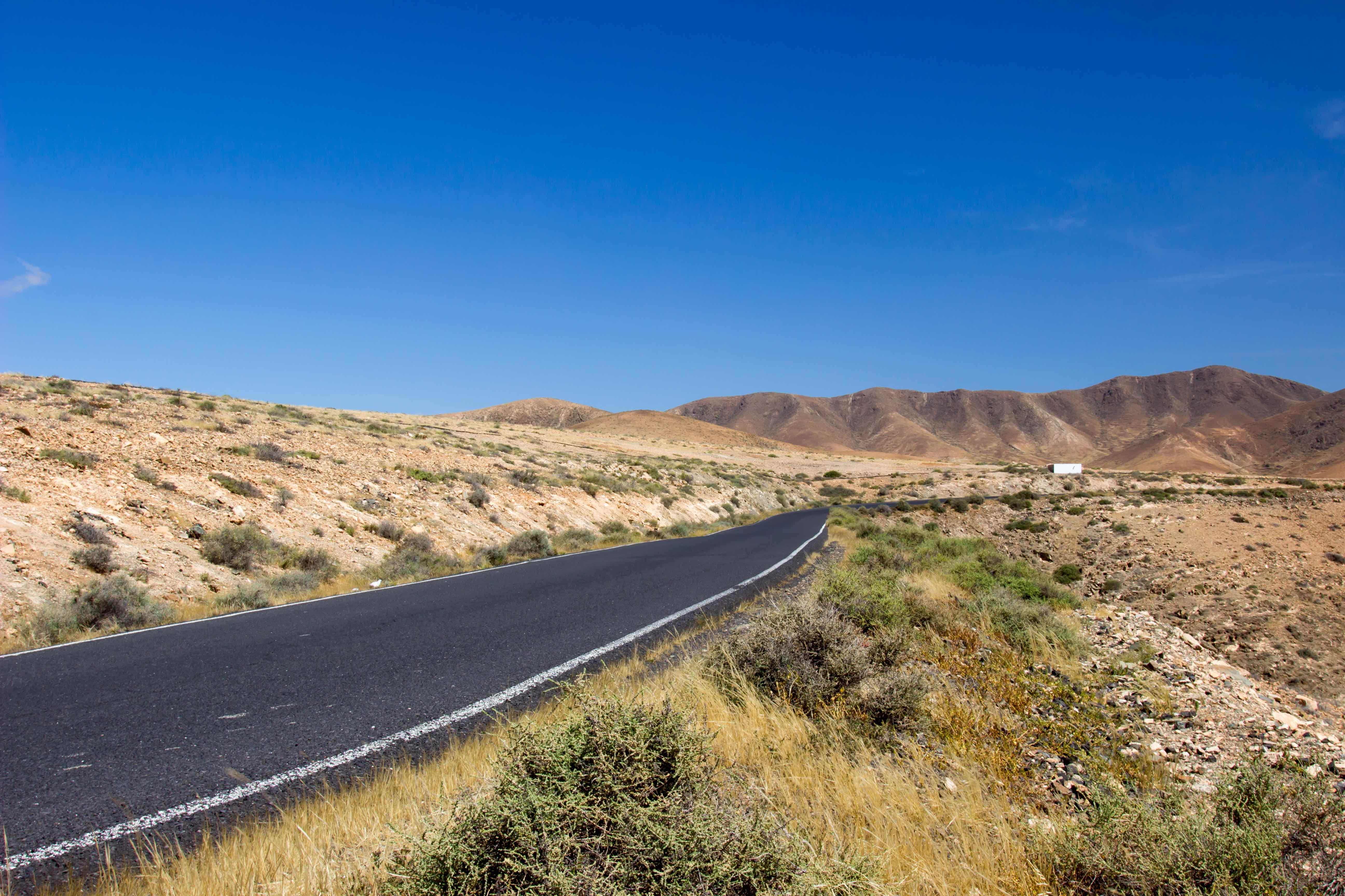 Impressionen der Tour durch die Berge nach Betancuria