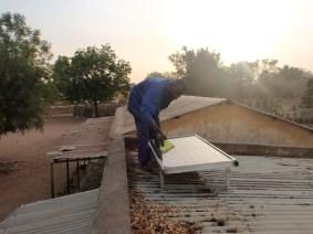 Solardach auf Schule in Mali
